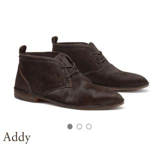 Trask Addy Brown Hair Calf Shoes Size 7 NEW
